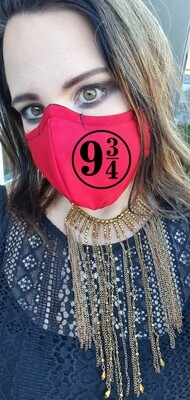 Platform 9 and 3/4 Red Mask