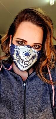 James Dean Skull Sublimation Mask