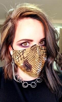 3D Snake Skin Mask