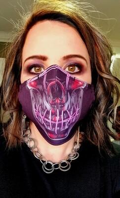 The Purge Sublimation Mask
