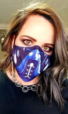 Mortal Kombat Sublimation Mask