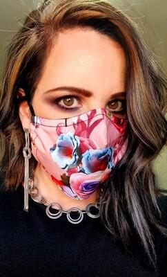 Neon Flower Mask