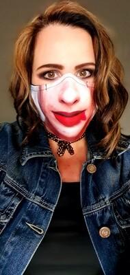 Harley Lips Sublimation Mask