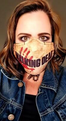 Walking Dead Sublimation Mask