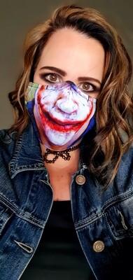 The Joker Sublimation Mask