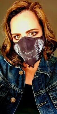 Marilyn Monroe Sublimation Mask