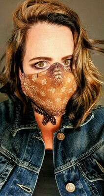 Distressed Nude Sublimation Mask