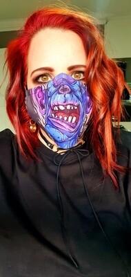 Purple Monster Mask