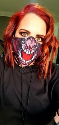 Red Tounge Mask