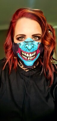 Ripped Mouth Zombie Mask