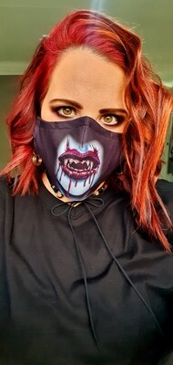 Vampire Sublimation Mask