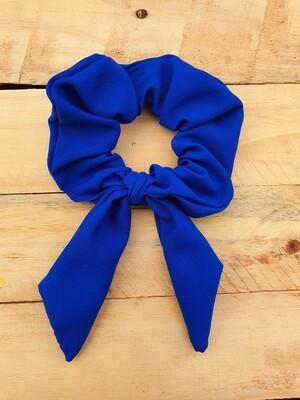 Royal Blue School Scrunchie