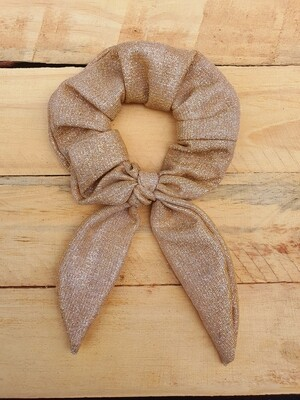 Light Gold Scrunchy