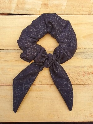Glitter Gold Scrunchie
