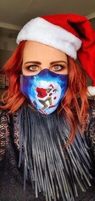 The Grinch who stole Christmas Sublimation Mask