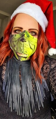 The Grinch Sublimation Mask