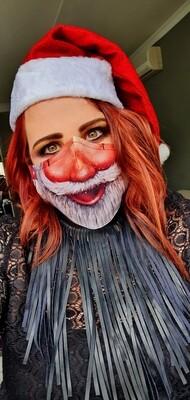 Santa Sublimation Mask