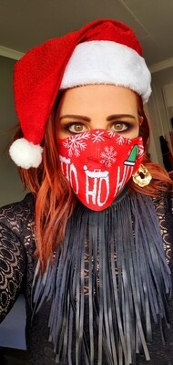 HO HO HO Sublimation Mask