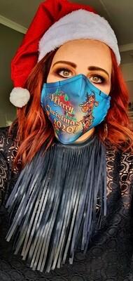 Christmas 2020 Deer Sublimation Mask