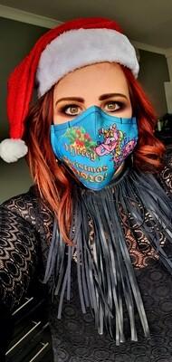 Christmas 2020 Unicorn Sublimation Mask