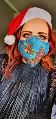 Christmas 2020 Poop Sublimation Mask
