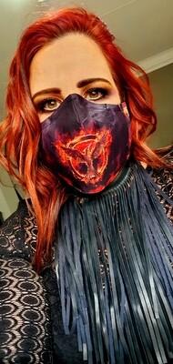 Custom Sublimation Mask