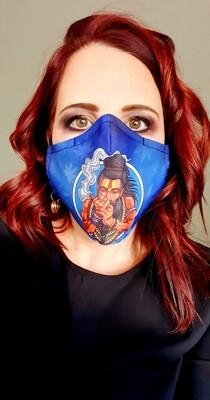 Blue Native Sublimation Mask