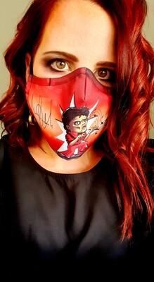 Mike J Sublimation Mask