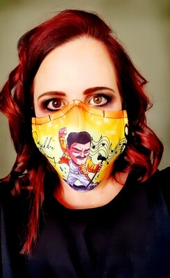 Freddy M Sublimation Mask