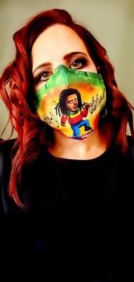 Bob M Sublimation Mask