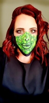 Female Frankie Sublimation Mask