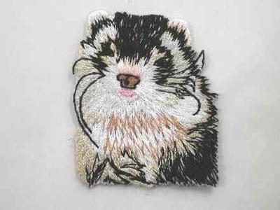 1 Ferret Treasures Logo Iron On Patch