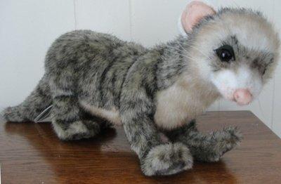 Hansa Wild Ferret Polecat Plush