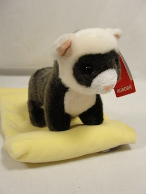 Aurora Baby Black Footed Ferret Plush