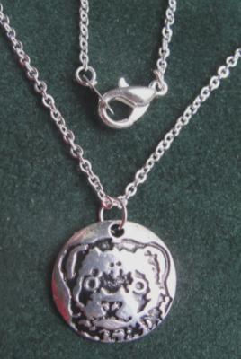 Ferret Face Necklace