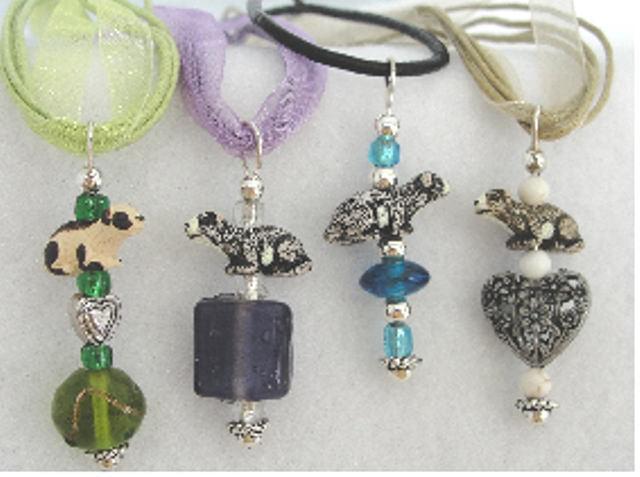 Ferret Bead Necklace