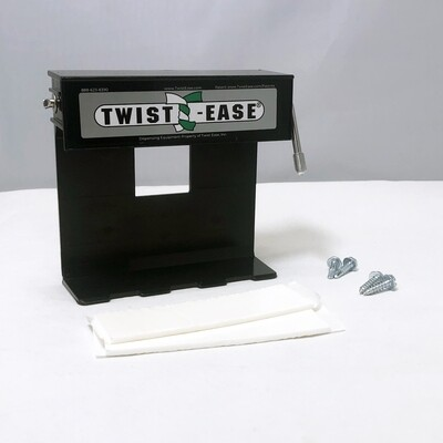 """Twist-Ease 4"""" Dispenser with Tape & Screws"""