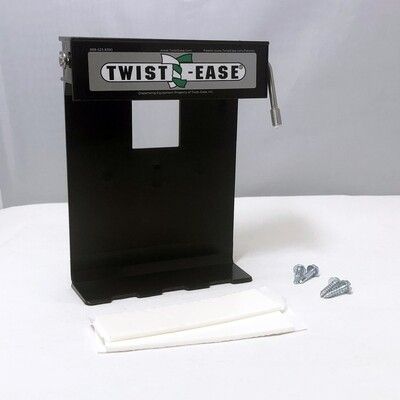 """Twist-Ease 6"""" Dispenser with Tape & Screws"""