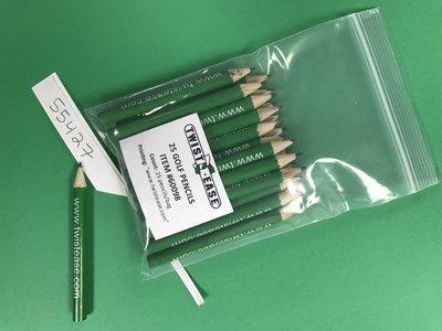Golf Pencils, 25 Count Bag