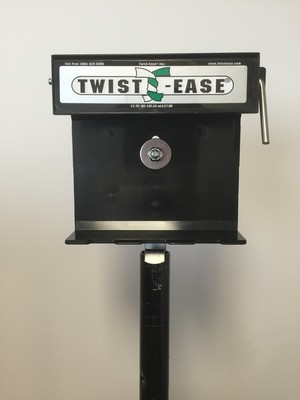 """Twist-Ease 4"""" Dispenser with Straight Pole"""