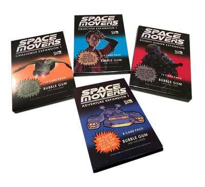 Space Movers Card Pack Mini Expansions