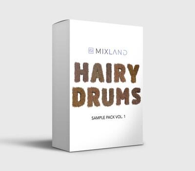 MIXLAND Hairy Drums Sample Pack Vol. 1