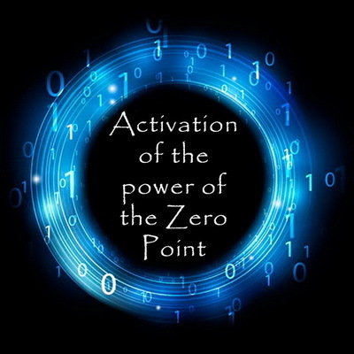 Activation of the Power of the Zero Point – creating as a God. Webinar course