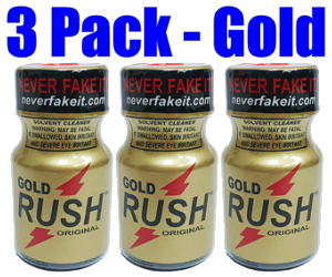 Gold Rush 3-Pack (10ml)