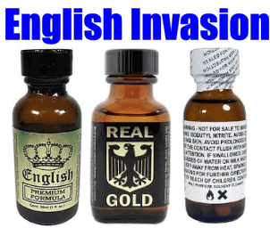 English Invasion PREMIUM PACK (30ml) English Gold, Real Gold and White Label