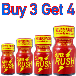 Super Rush ORIGINAL Buy 3 Get 4 (10ml)