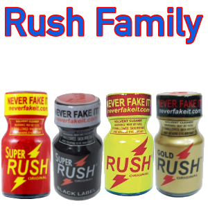 Rush FAMILY 4-PACK (10ml)