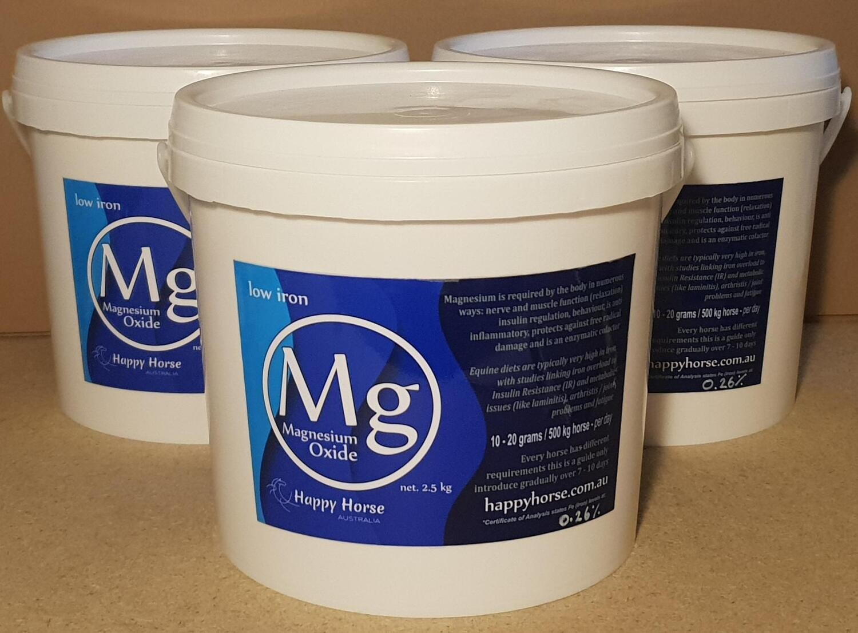 Happy Horse Australia - Low Iron Magnesium Oxide Powder 2.5kg