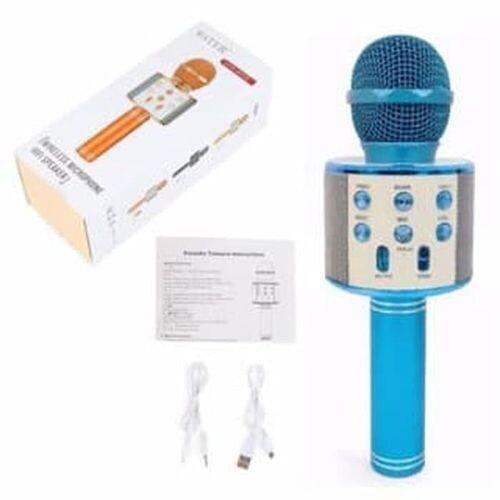 Microphone - WS-858 - Bleu