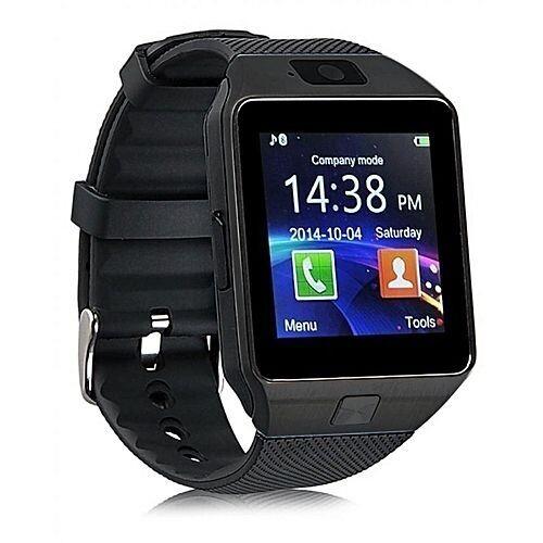 Reliance Montre Smart Watch - Dz09 - Bluetooth- Carte Sim - Caméra - Noir